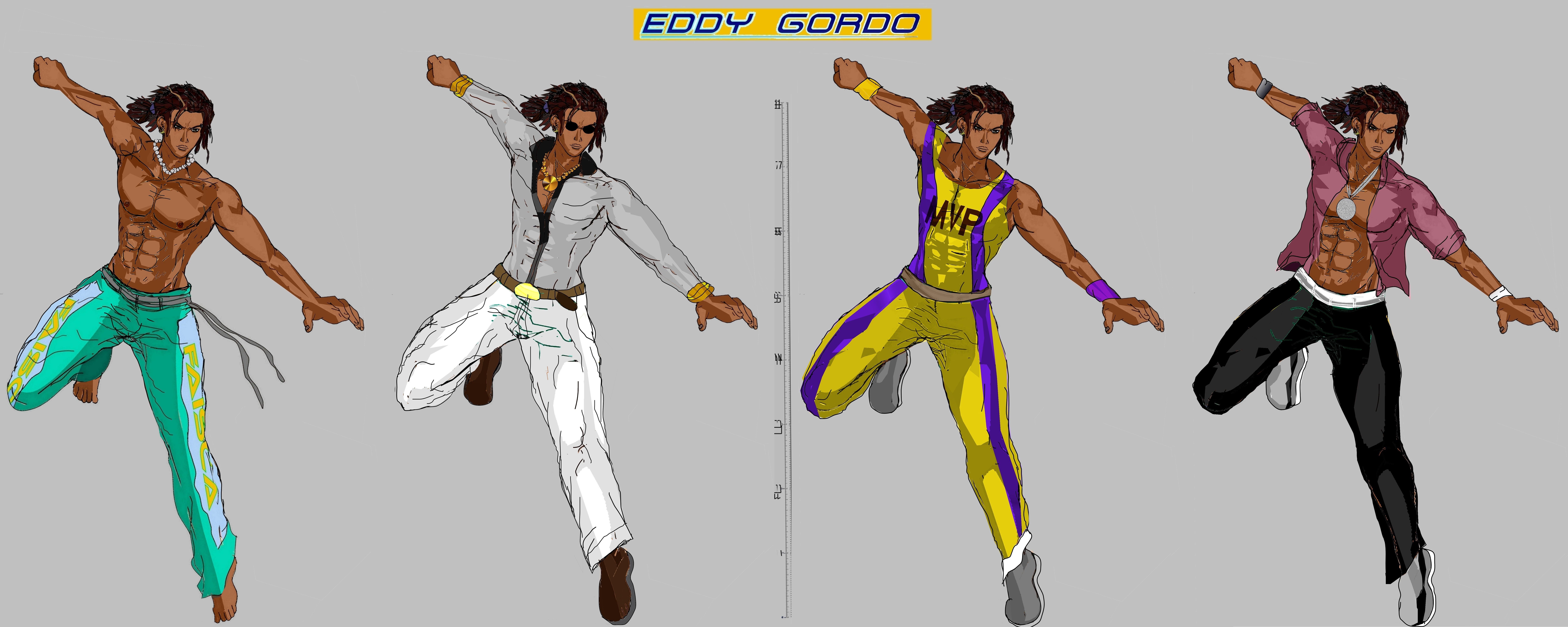 Tekken 7 Eddy Models By La Laker On Deviantart