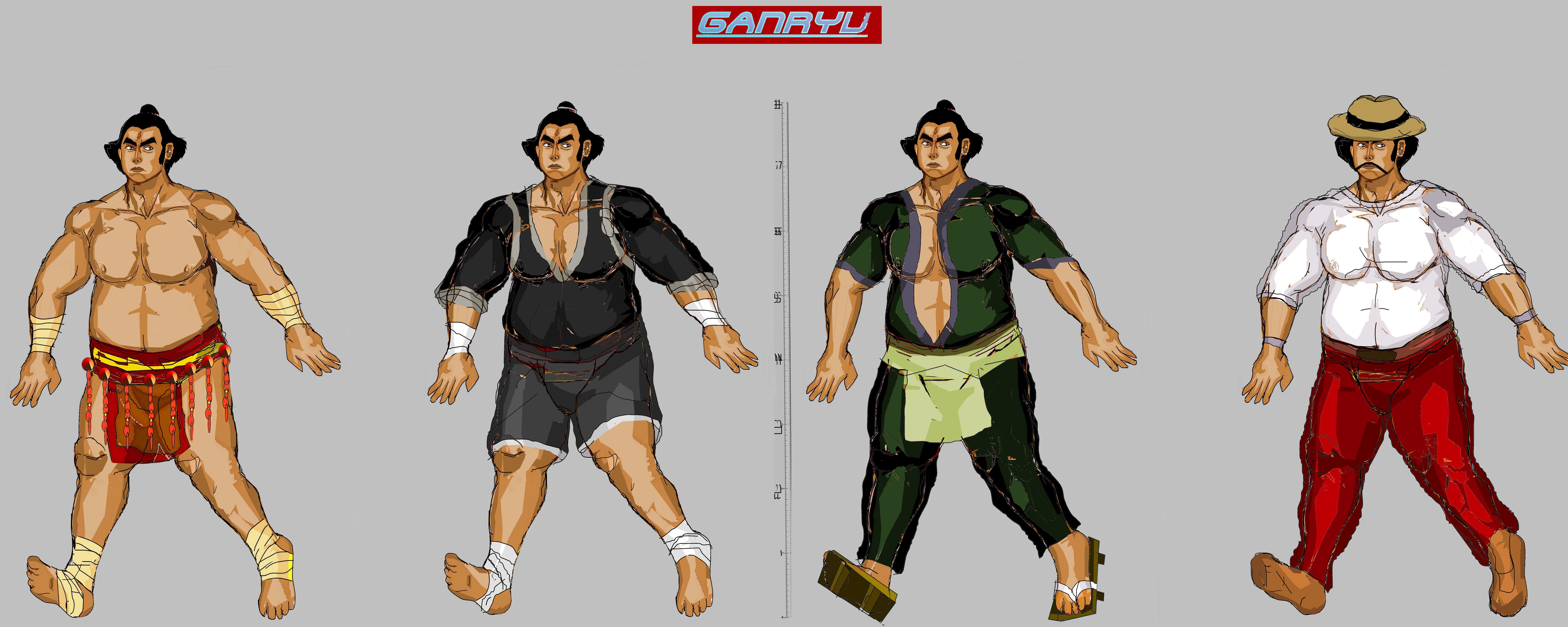 Tekken 7 - Ganryu Models by LA-Laker