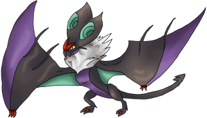 Noivern by Cinnamon-Quails