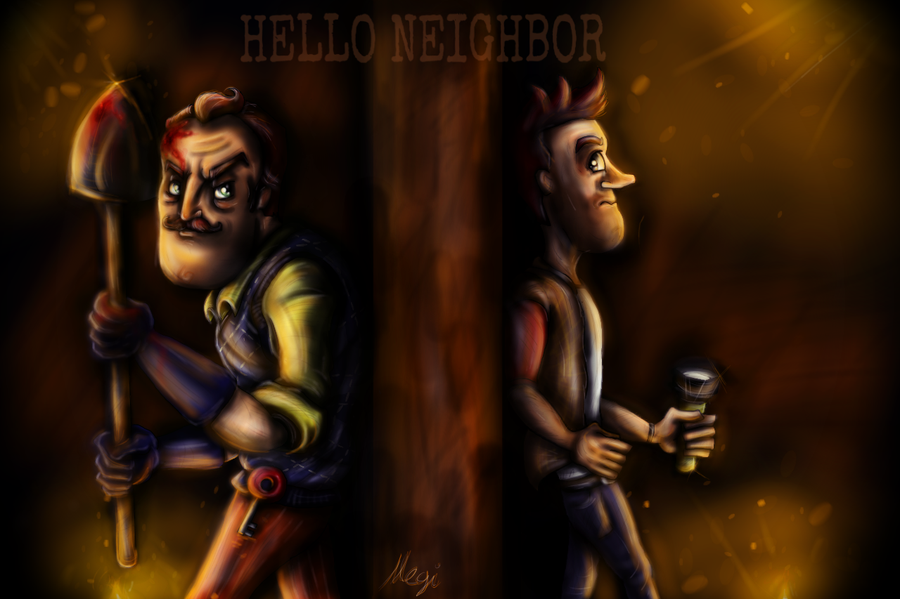 Hello Neighbor By Megiw On Deviantart