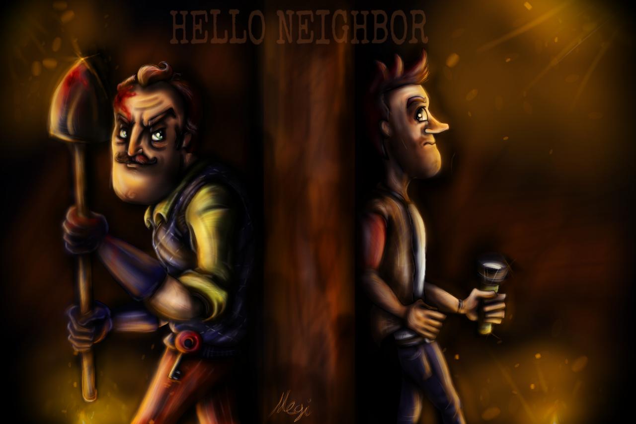 Neighbors Wallpaper Hello neighbor!...