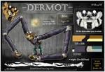 OC - Dermot [ref sheet]