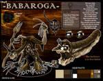OC - Babaroga [ref sheet]