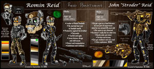 OCs - Reid Brothers [Ref Sheet] by MegiW