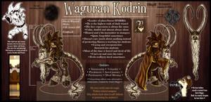 OC - Waguran [ref sheet]