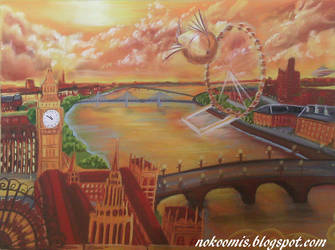 Londres Mecanique by Nokoomis