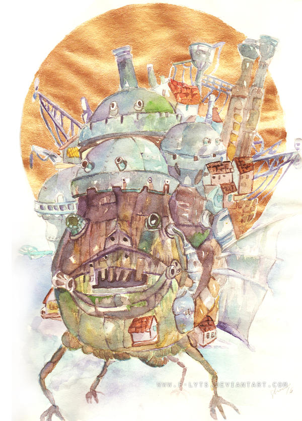 Howl's Moving Castle by f-lyts