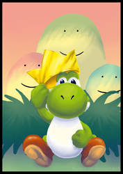 The Yoshi King by Myaco