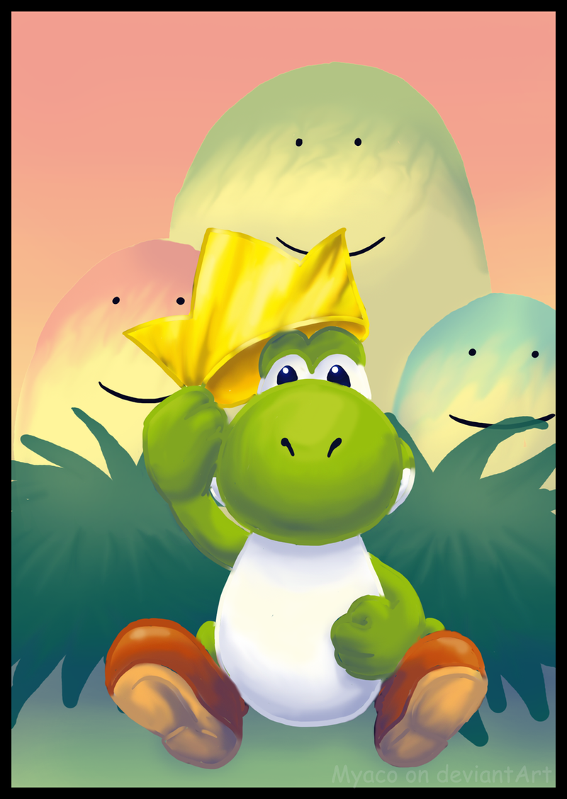 The Yoshi King by Myaco