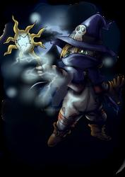 Wizardmon by Myaco