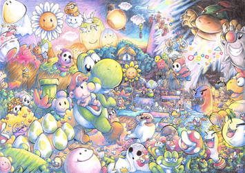 Welcome To Yoshi's Island by Myaco