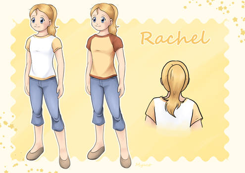 [Commission] Reference Sheet Rachel