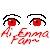 Free Icon-Ai Enma Fan by Powdered-Sugar