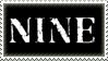 NINE - stamp by Powdered-Sugar