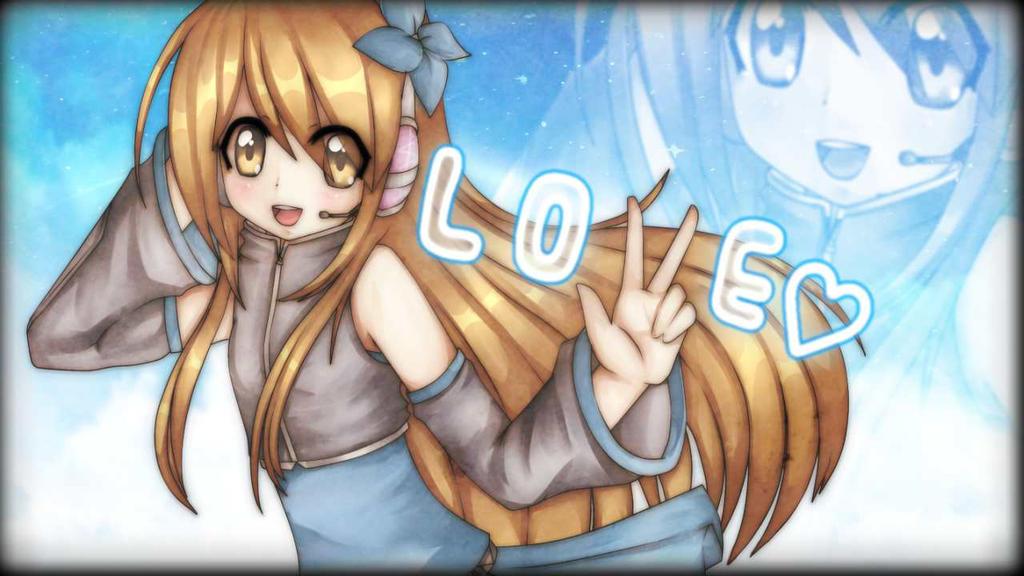 Ichigawa Ami - Love Logic Wallpaper by Yen-mi