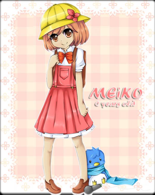 Meiko's Request Game: request 5-meiko's childhood by Yen-mi on ...