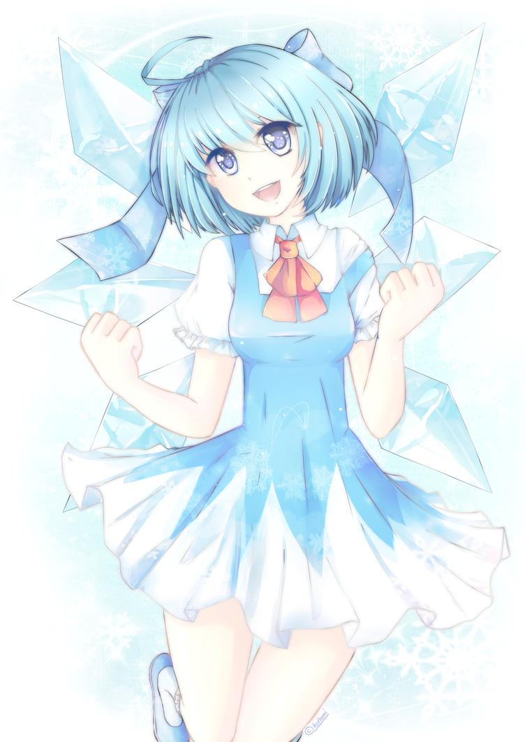 Cirno - the iced fairy by Yen-mi