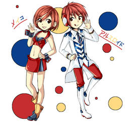 MEIKO and ARSLoid by Yen-mi