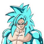 Goku SSJ4 Blue