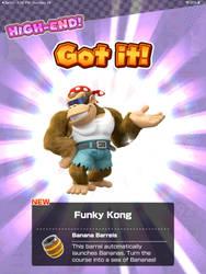 I Unlocked Funky Kong!