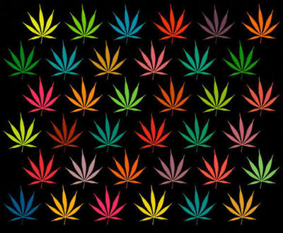 Marijuana Pattern by morenaraiz