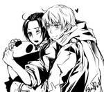 HUGGY with panda