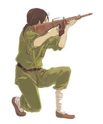 APH- Yao with the gun by yamielkk