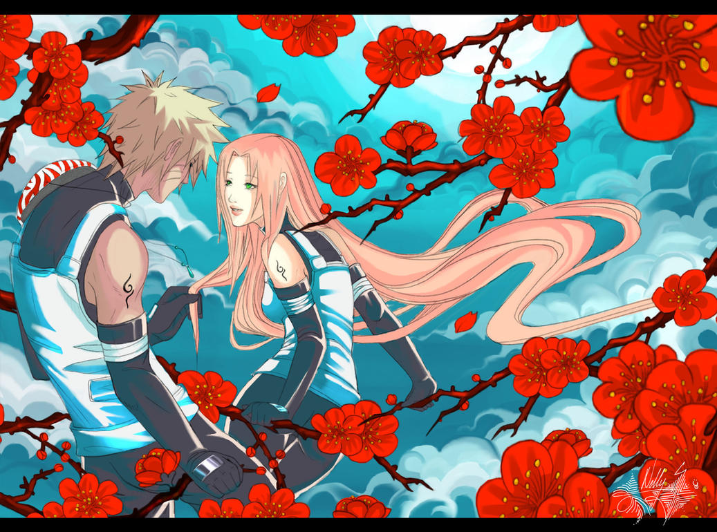 NaruSaku_Your_Glance by Warrior-of-Ruin