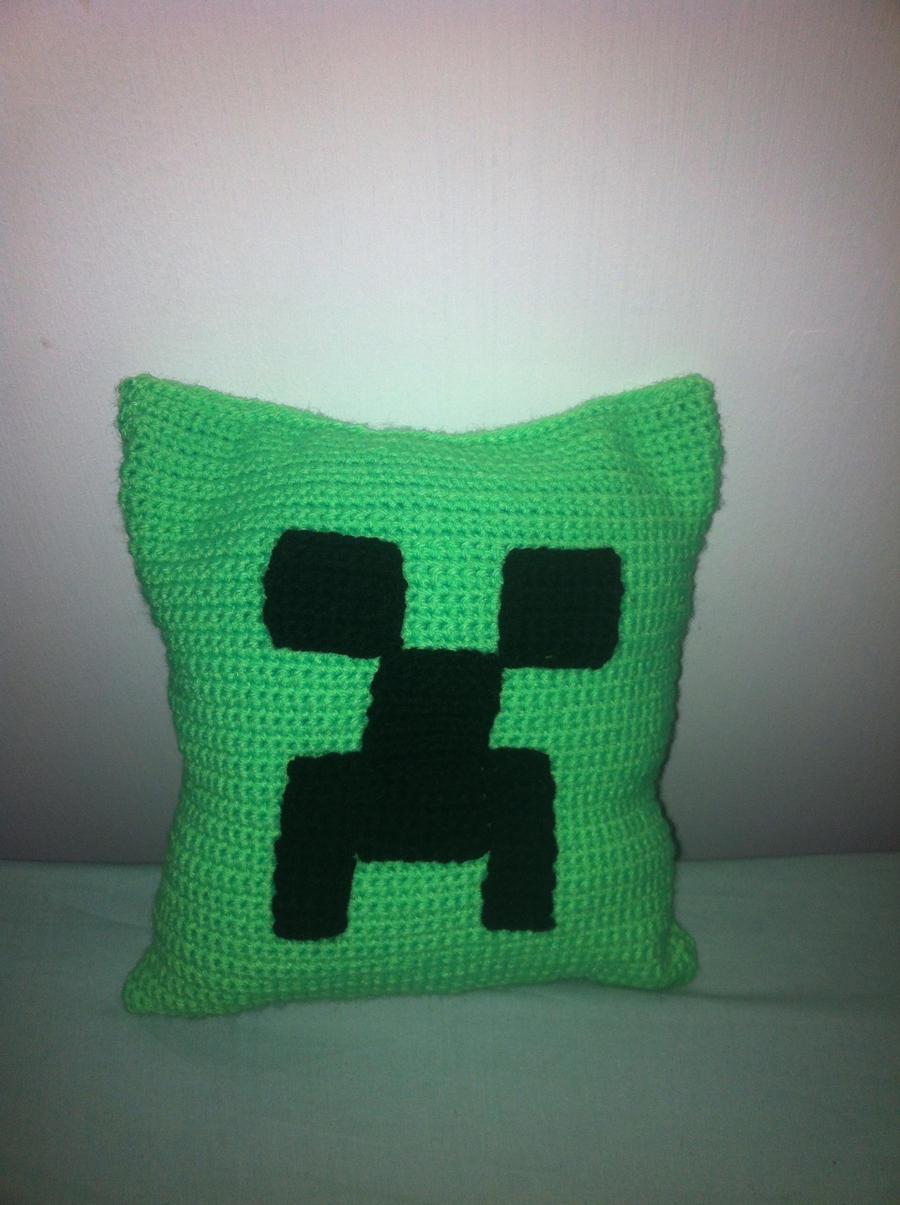 Minecraft Crochet Afghan Pattern Free : Minecraft Creeper Crochet Blanket Apps Directories