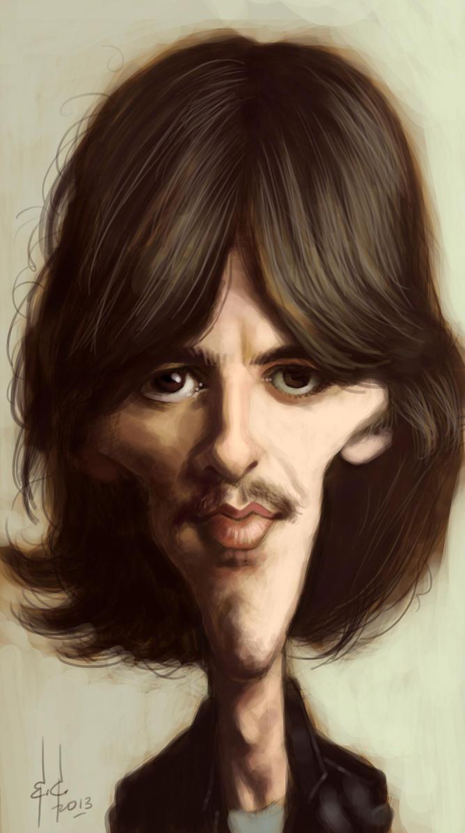George Harrison 1968 By StudioCandia