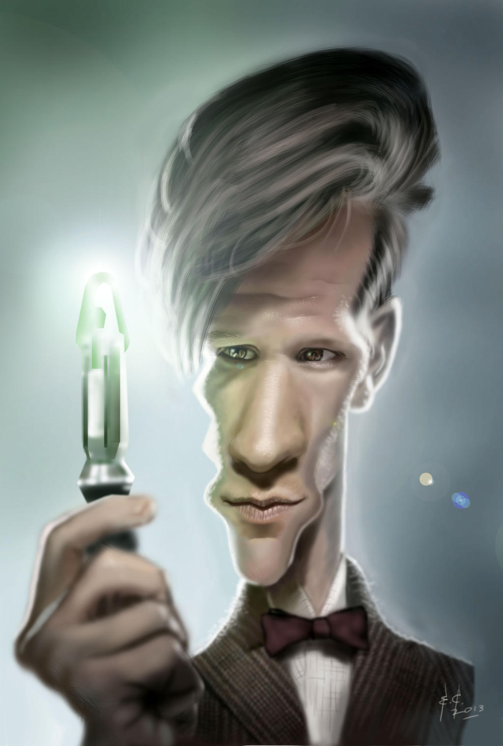 Dr. Who! (Matt Smith) by StudioCandia