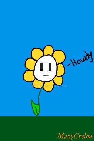 Horrible Flowey the Flower  by MazyCrelon