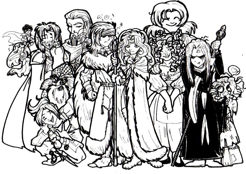 Dragonlance cast