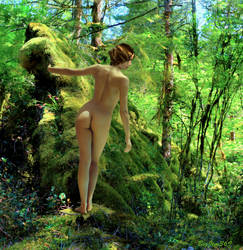 Moss Garden Nude 2 by BigJim369-Redux
