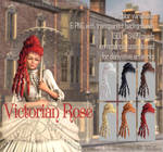 Victorian Rose HAIR