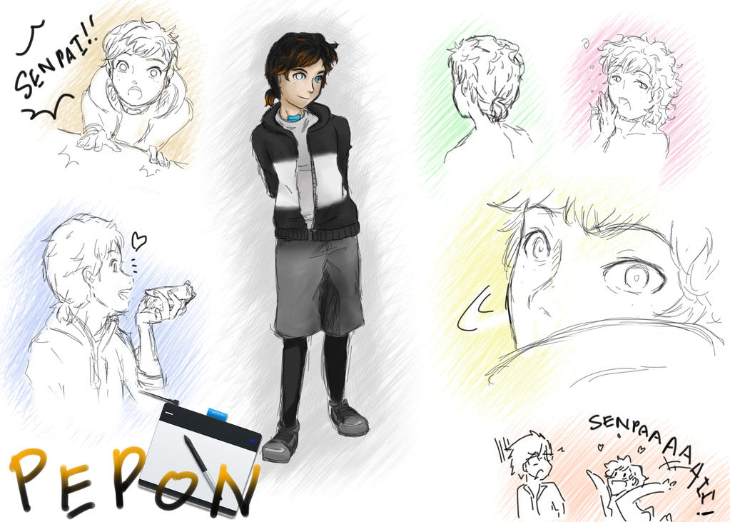 Pepon the Wacom Tablet by Syani