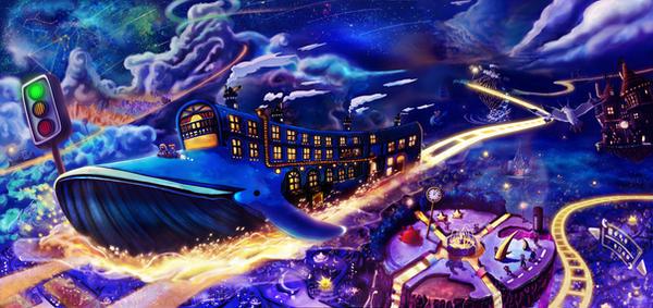 Dream Travel by Shin38570