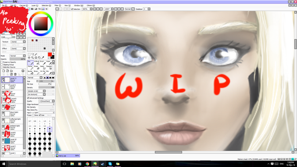 WIP - Mercy from Overwatch by locomore