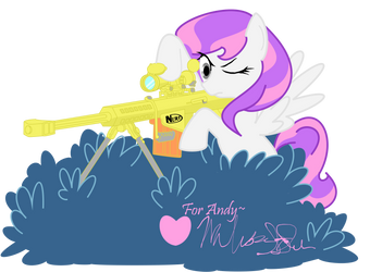 Amethyst Lullaby, About to Kick Flank! by AmethystLullaby