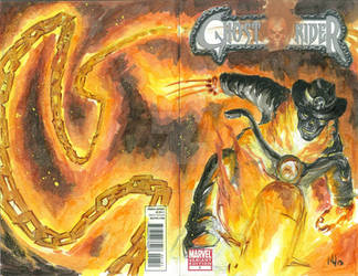 What If Wolverine Was The Ghost Rider?