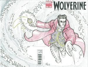 What If Wolverine Was Master of The Mystic Arts