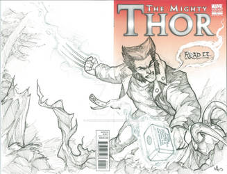 What If Wolverine Had The Power of Thor?