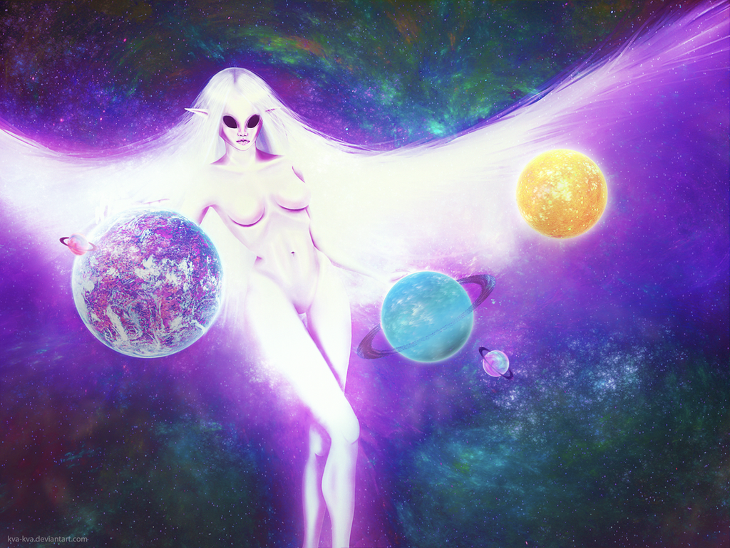 Planet princess by Kva-Kva