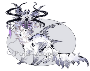 [CLOSED] adopts auction 48 - Forsaken King by Polis-adopts