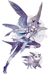 [CLOSED] adopts auction - Gray Owl (AB added)