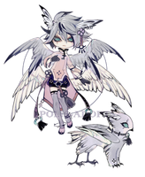 [CLOSED] Adopt set price - Wounded Owl by Polis-adopts