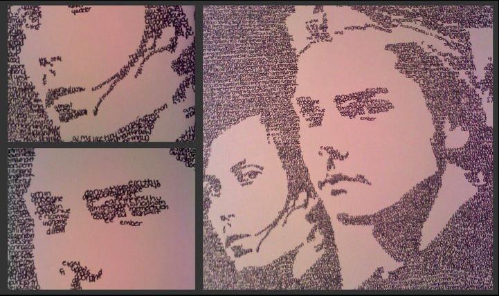 Frank and Gerard, Lyric Art by LebDieSekundex3
