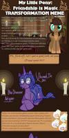 MLP Transformation Meme - Star Shimmer by HitaKai