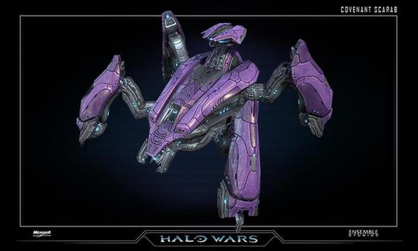 Halo Wars Scarab by saizarod