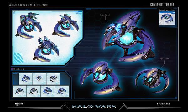 Halo Wars Covenant Turrets 2 by saizarod